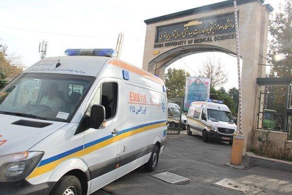 10 دستگاه آمبولانس ویژه اربعین به مرز خسروی اعزام شد